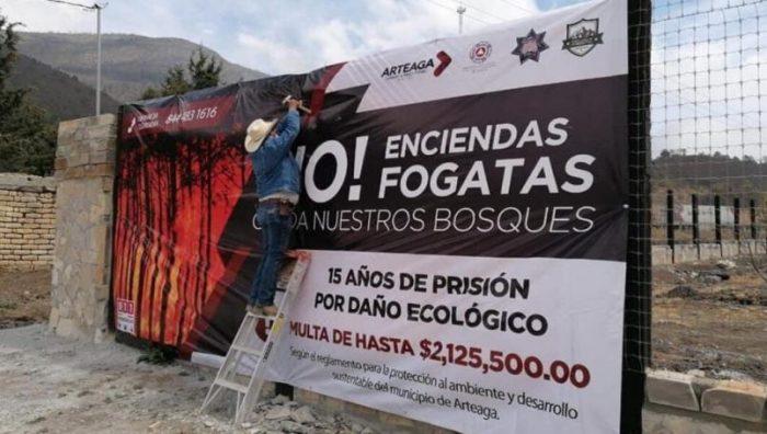 Con multas y cárcel se castigará a quien encienda fogatas en Coahuila