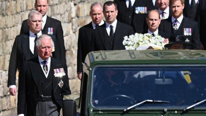 Comienza funeral del Príncipe Felipe
