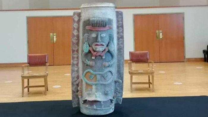 México recupera urna maya