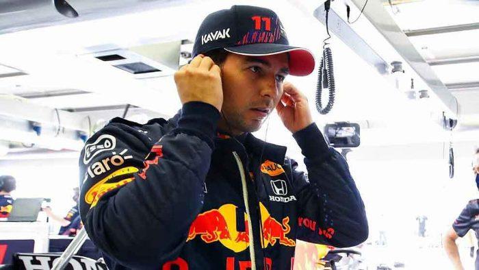 Checo Pérez quedó cuarto en el Gran Premio de Portugal