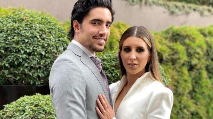 Las primeras fotos de la boda entre Alex Fernández Jr. y Alexia Hernández