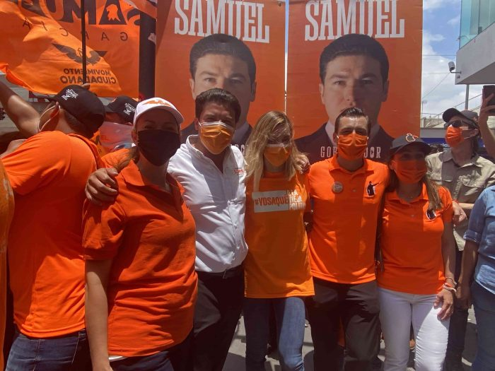 """Samuel García y Luis Donaldo Colosio """"Somos el Plan A de Nuevo León"""""""