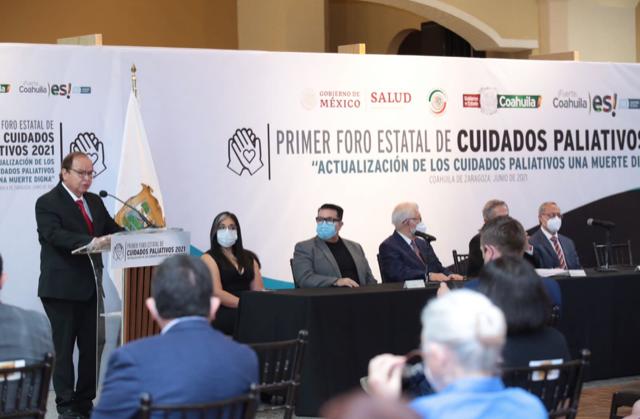 CELEBRA COAHUILA PRIMER FORO ESTATAL DE CUIDADOS PALIATIVOS