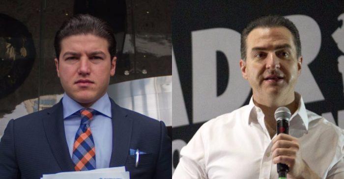 Samuel García y Adrián de la Garza se proclaman como los futuros gobernadores de Nuevo León