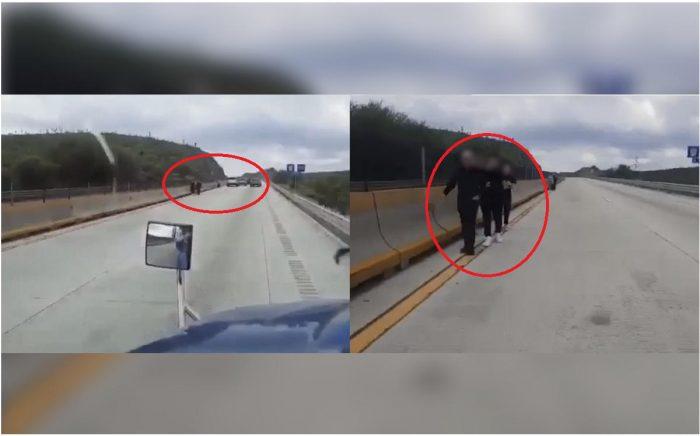 Despojan de camioneta a familia y la dejan varada en carretera Monterrey-Nuevo Laredo