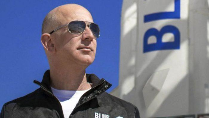 Jeff Bezos, el hombre más rico del mundo llega al espacio
