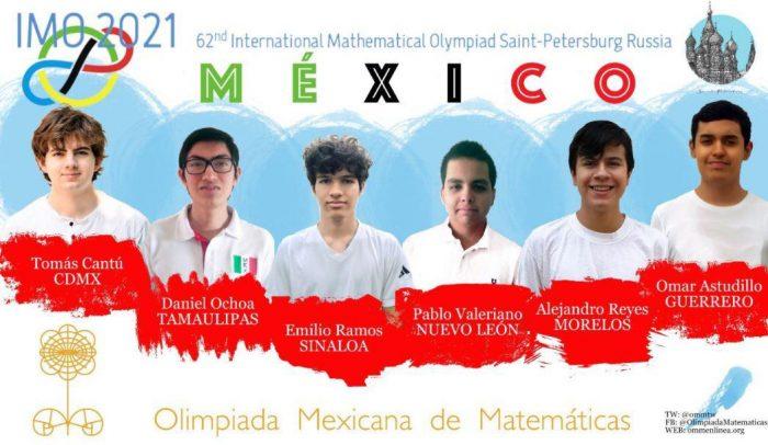 Gana México seis medallas en Olimpiada Internacional de Matemáticas