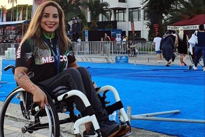 Brenda Osnaya: la primera mexicana en paratriatlón en los Juegos Paralímpicos de Tokio 2020