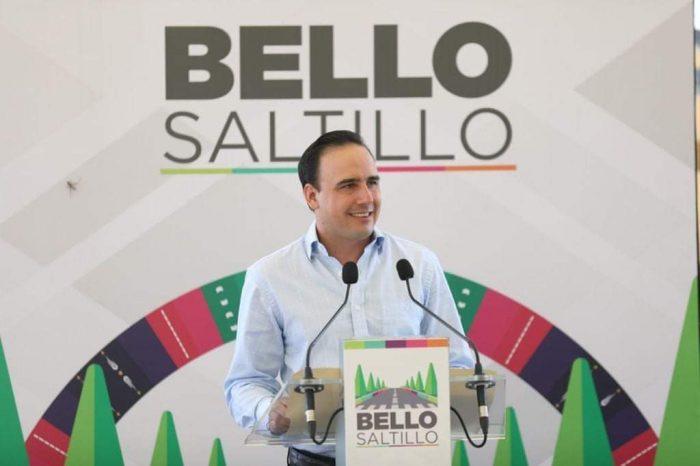 Arrancan gobernador y alcalde última etapa del programa Bello Saltillo