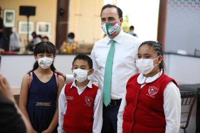 El derecho a la niñez, prioridad del alcalde Manolo Jiménez