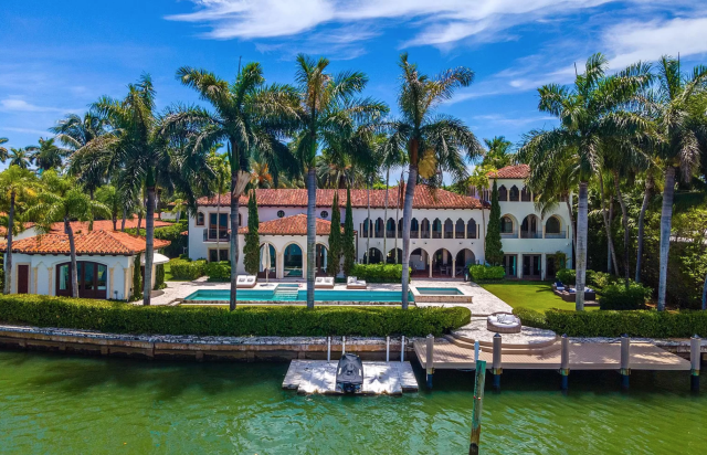 Inés Gómez-Mont y Álvarez Puga compraron mansión en Miami que perteneció a Cher