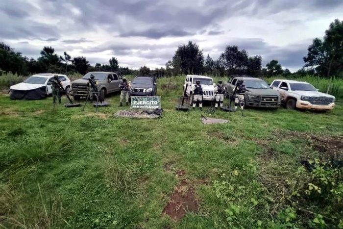 Hallaron trinchera del CJNG en Mazamitla, Jalisco