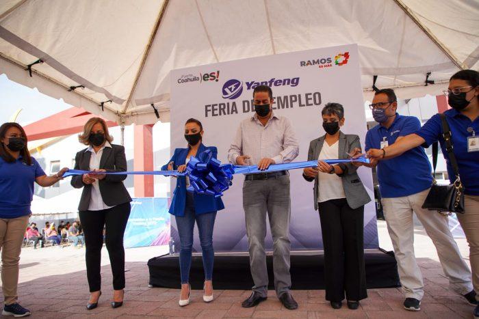 INAUGURA CHEMA MORALES LA FERIA DEL EMPLEO YANFENG