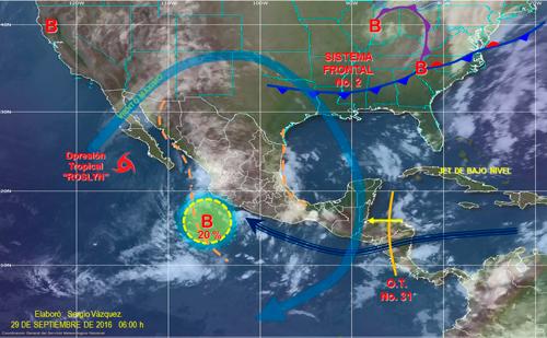 Conagua alertó por la Onda Tropical 31 y la posible formación de tres Ciclones Temporales