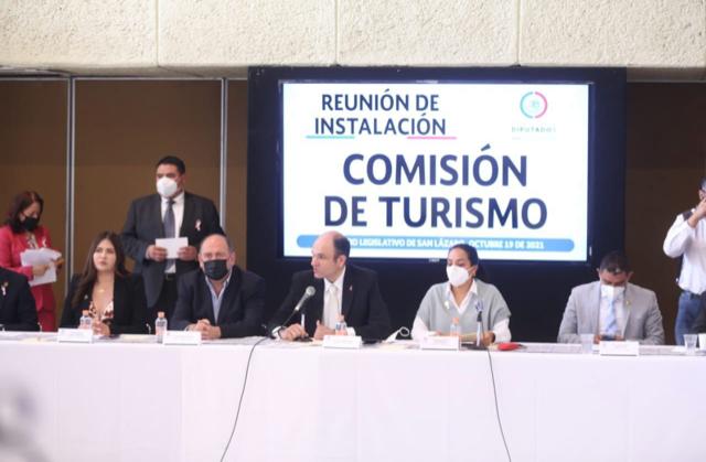 PRESIDE JERICÓ ABRAMO INSTALACIÓN DE COMISIÓN DE TURISMO