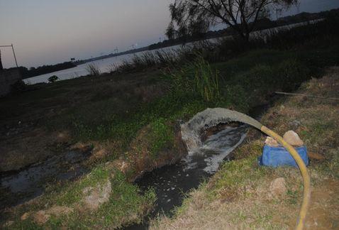 Autoridades omisas ante contaminación de laguna