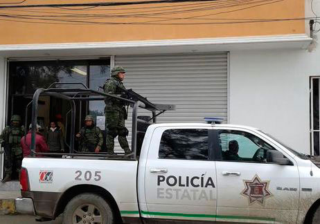 Resguardan polimilitares Presidencia de Altamira