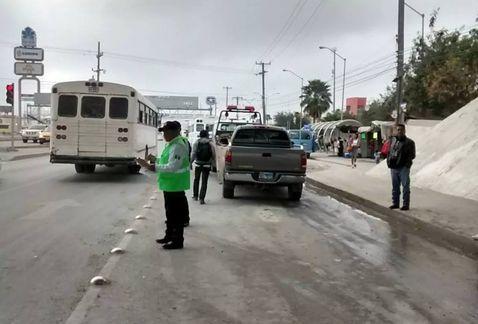 Dan de baja a 8 tránsitos por operativos en Reynosa