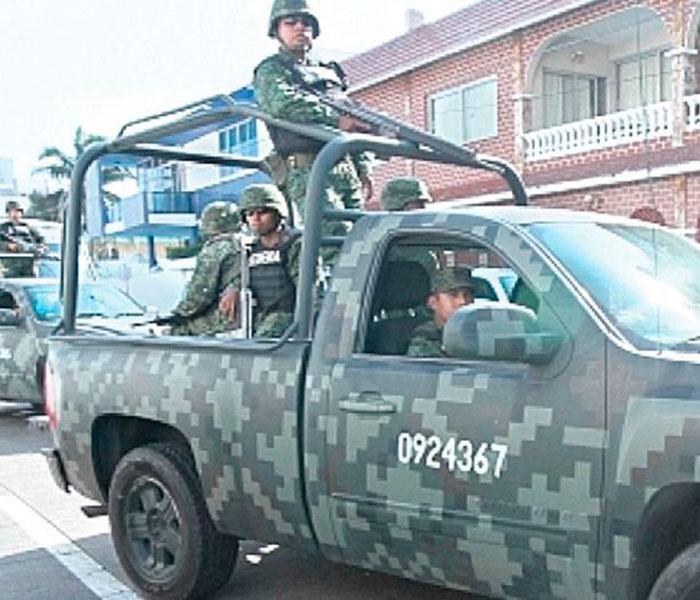 Abaten militares a 4 en Río Bravo
