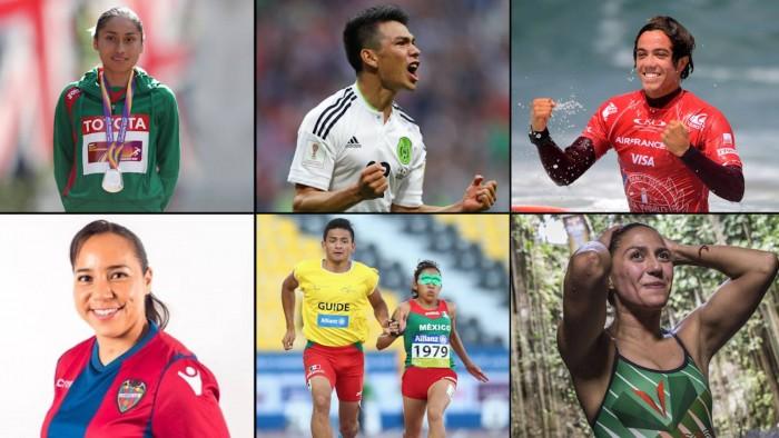 Estos son los seis deportistas mexicanos que marcaron el 2017