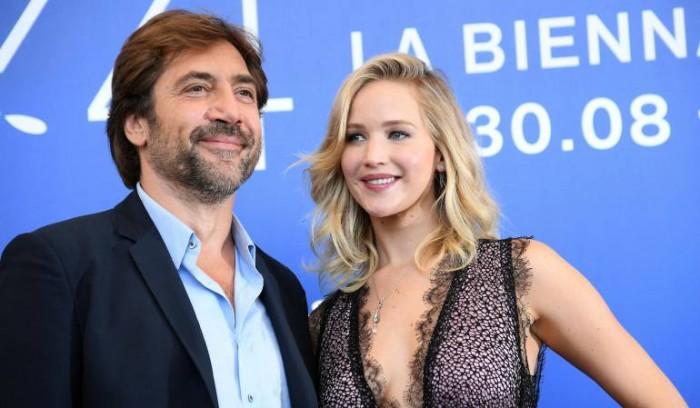 Jennifer Lawrence y Javier Bardem, entre los nominados a ser los peores del año