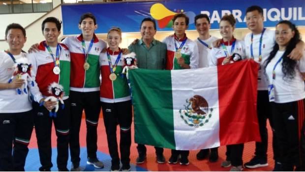 México ya es líder del medallero en Barranquilla 2018