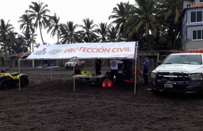 Mar arroja cuerpos de turistas desaparecidos en Colima