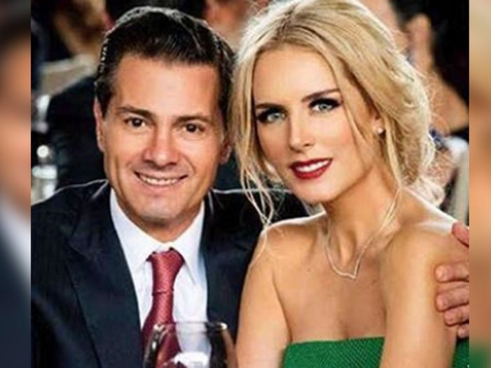 Tania Ruiz luce anillo y vestido de novia... ¿Se casa con Peña Nieto?