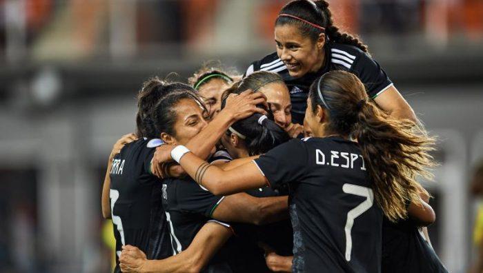 Inicia México con victoria en el Preolímpico Femenil rumbo a Tokio 2020