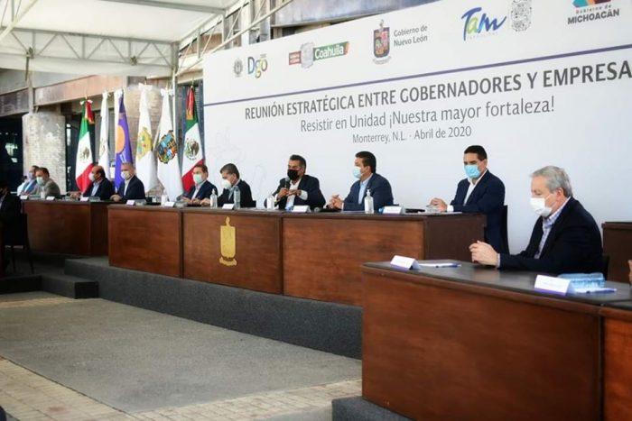 """""""Sellamos gobernadores y empresarios pacto de unidad y de trabajo""""; asegura Miguel Riquelme"""