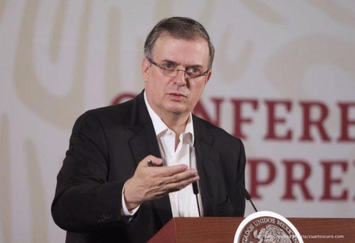 Marcelo Ebrard, secretario de Relaciones Exteriores, aseguró que migrantes haitianos son refugiados de Brasil y Chile