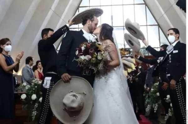 Camila, hija de Alejandro Fernández, se casa en Zapopan