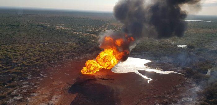 Explota en China, Nuevo León un gasoducto de Pemex