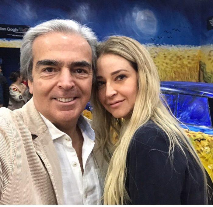 Viudo de Edith González presume su nueva pareja en Instagram
