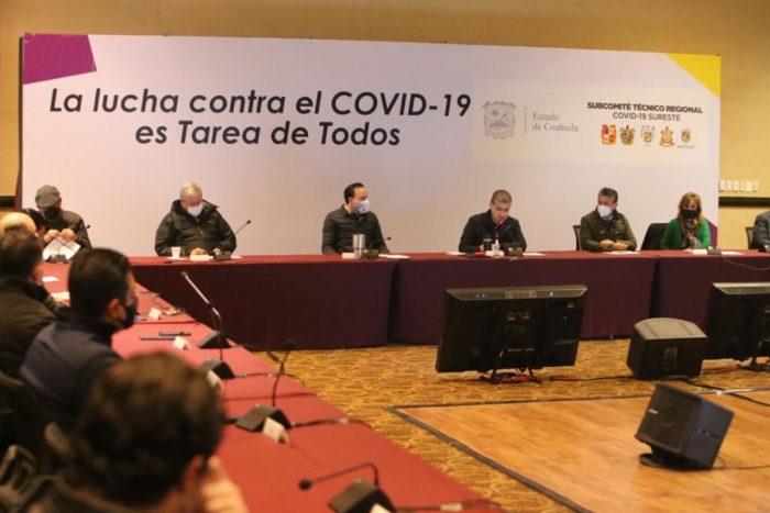 Cierra el año con 95 sesiones el Subcomité Técnico Regional Covid-19 Sureste