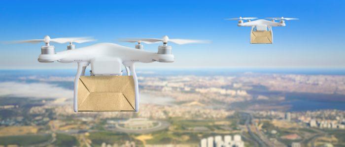 Estados Unidos autoriza el uso drones para entrega de mercancía