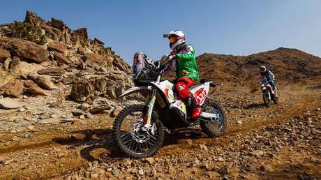 Muere Pierre Cherpin, tras sufrir accidente en Rally Dakar