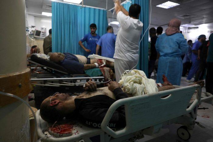Un bombardeo de Israel tras el lanzamiento de cohetes hacia Jerusalén causa 20 muertos en Gaza