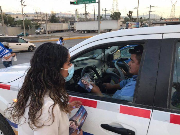 LLEGA KARY RAMÍREZ A TODOS LOS LUGARES DE SU DISTRITO.