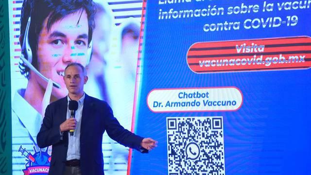 El 24 o 25 de mayo se liberarán 4 lotes de vacuna de AstraZeneca: Hugo López-Gatell