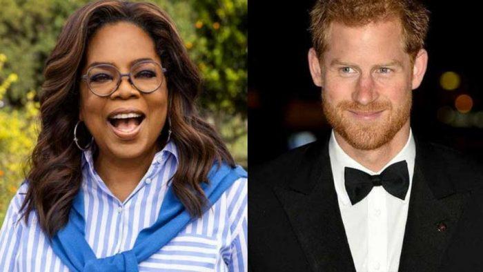 Oprah Winfrey y el príncipe Harry presentarán serie sobre salud mental