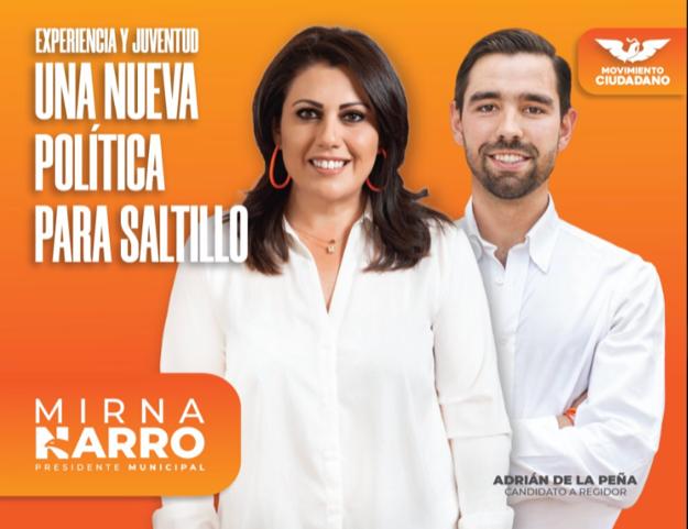 Continúa el trabajo de Candidatos de Movimiento Ciudadano Saltillo