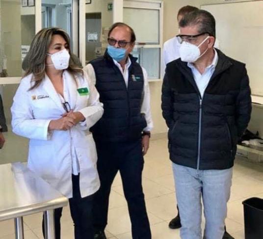RECONOCE OMS TRABAJO DEL LABORATORIO DE SALUD PÚBLICA DE COAHUILA ANTE LA PANDEMIA