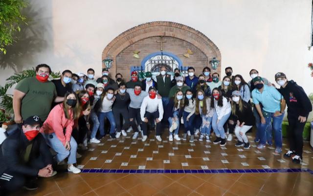 GESTIONARÉ BECAS EDUCATIVAS  PARA LOS JÓVENES EN MÉXICO: JAM