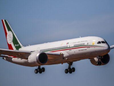 Se vende antiguo avión presidencial en 65 millones de pesos