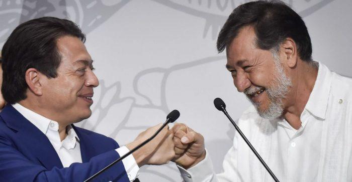 Gerardo Fernández Noroña recibe constancia de mayoría por el Distrito 4