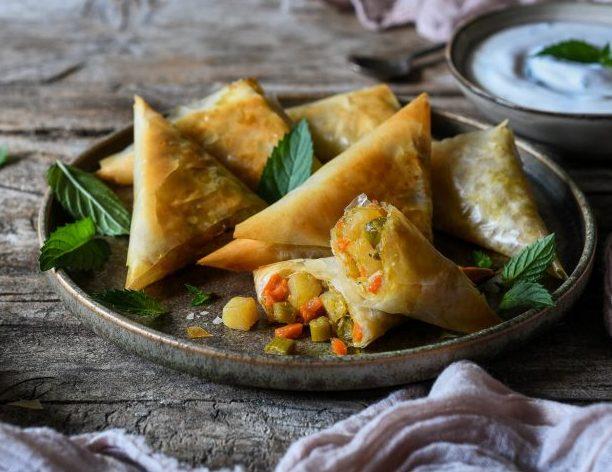 RECETA VEGANA. Samosas: el más popular aperitivo de la India