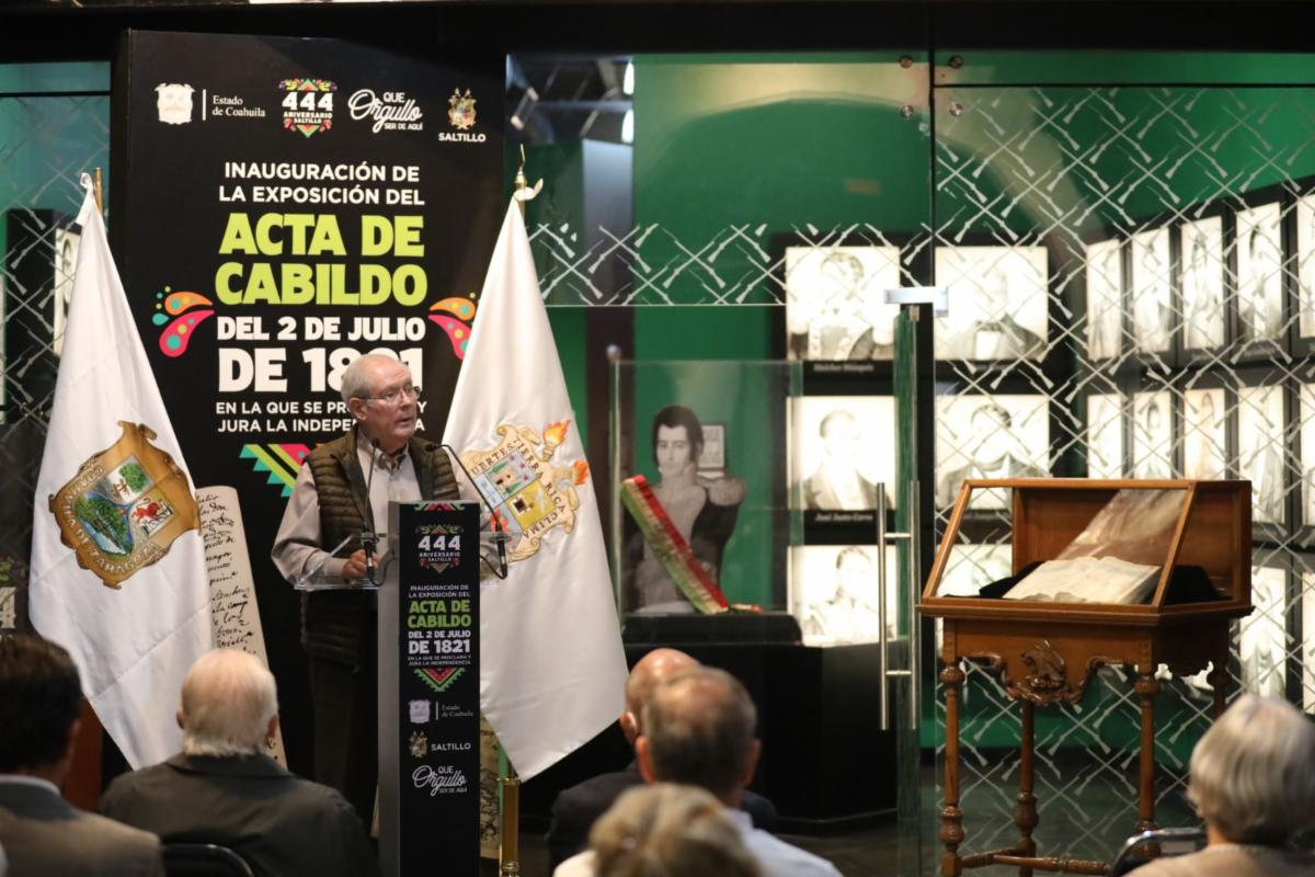 Celebra Saltillo 444 aniversario con grandes obras