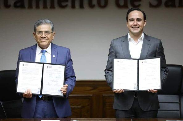 Municipio de saltillo y UAdeC en pro del medio ambiente