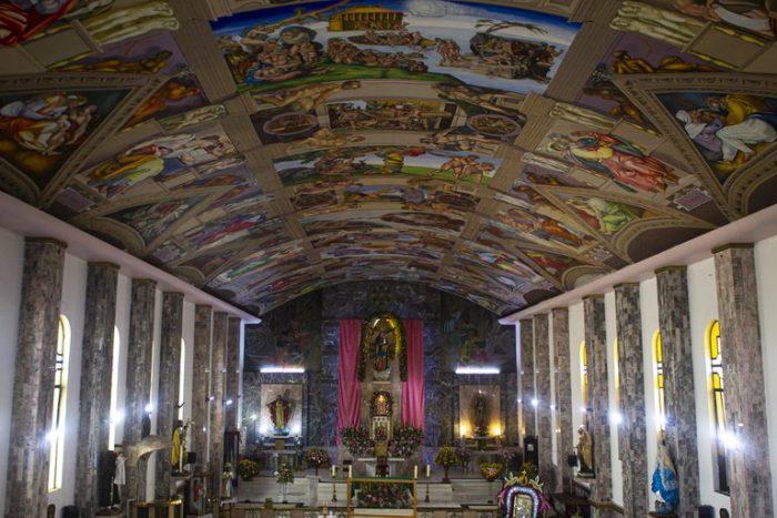 Fue al Vaticano, se enamoró de la Capilla Sixtina y decidió hacer una réplica exacta en una iglesia de la Ciudad de México